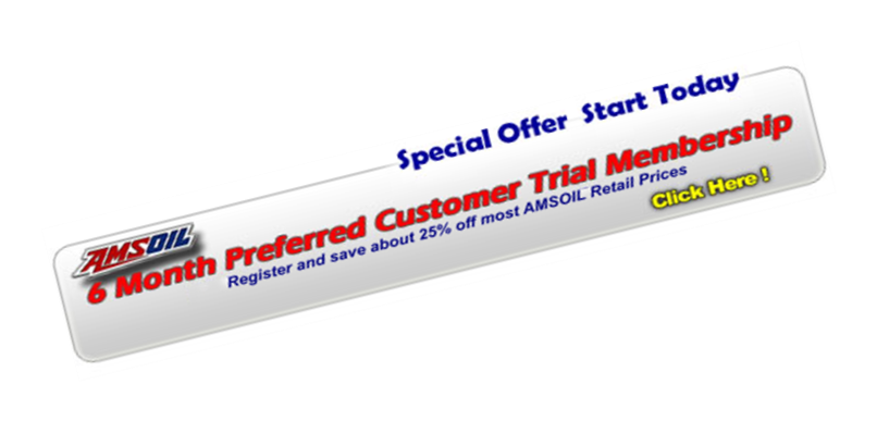 Amsoil preferred customer trial membership