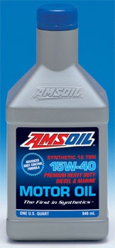 15W-40 Heavy Duty Diesel and Marine Oil
